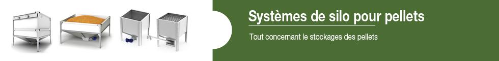 Banner-Pelletlagersysteme